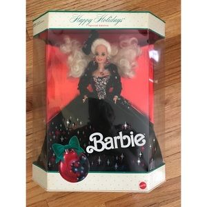 1991 SPECIAL EDITION HOLIDAY BARBIE NEVER OPENED